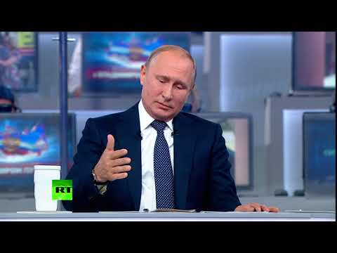 'It is hard to talk about it in public': Putin answers personal questions during Direct Line
