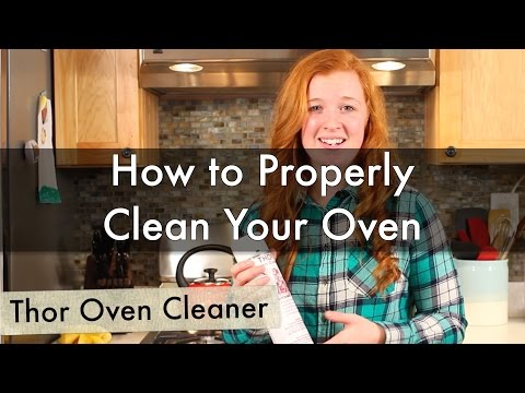 How to Properly Clean Your Oven using Thor Oven Cleaner | Life is Clean
