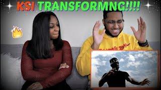 "KSI - ""TRANSFORMING"" (Official Music Video) REACTION!!!!"