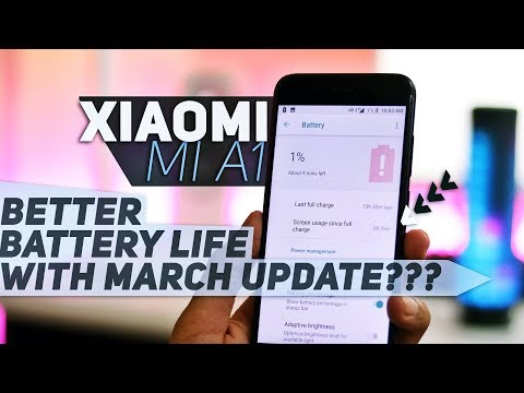 Xiaomi Mi A1 | A Look at Battery Performance After March Update!