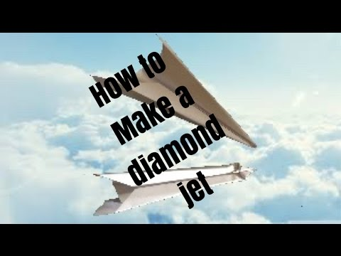 How to Make a Fast Flying Airplane - Diamond Jet