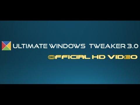 Ultimate Windows Tweaker For Windows 8: Official Tutorial Video