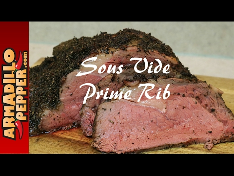Sous Vide Prime Rib with the Anova Precision Cooker