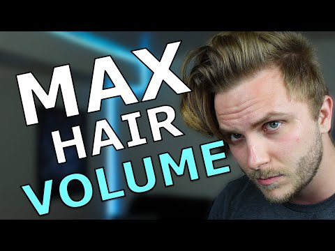 How To Add Volume To Hair Men | Men's Hairstyle Tutorial