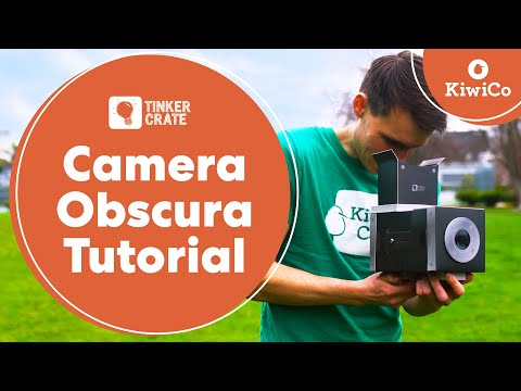 Build a Camera Obscura - Tinker Crate Project Instructions