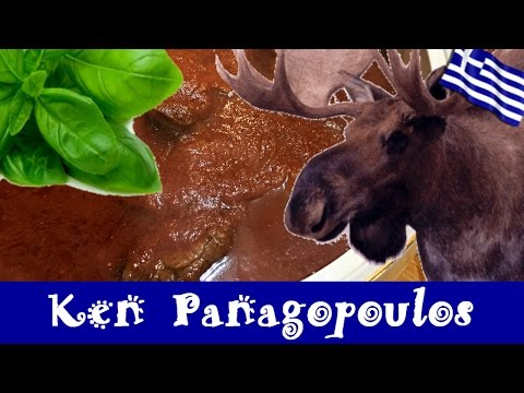 How To Cook MOOSE - Slow Cooker Moose Recipe | Ken Panagopoulos