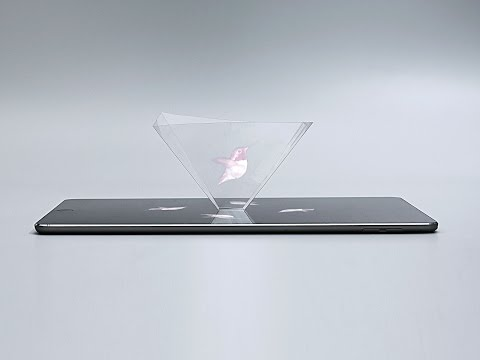 Build It - Smartphone Hologram