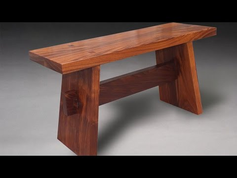 Building an Asian inspired contemplation bench