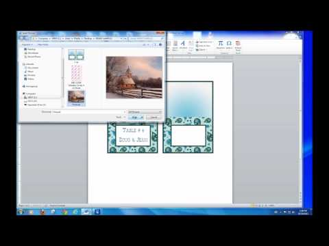 How to Add Text in an Image with MS Word