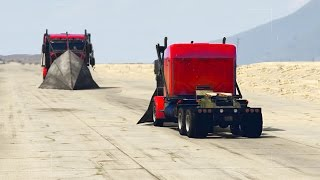 GTA 5 - PHANTOM TRUCK VS PHANTOM TRUCK