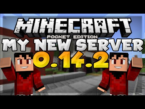 MY NEW MCPE SERVER!!! - Official Server Release - Minecraft PE (Pocket Edition)