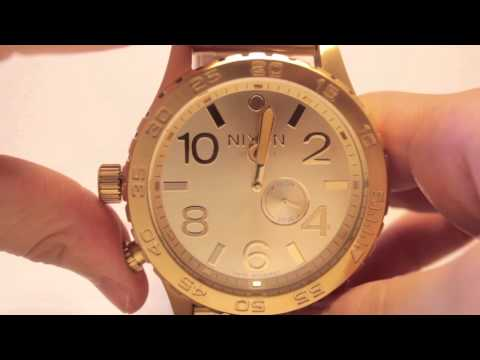 COOLWATCH31 NIXON 51-30 TIDE Series How to set Tide Graph