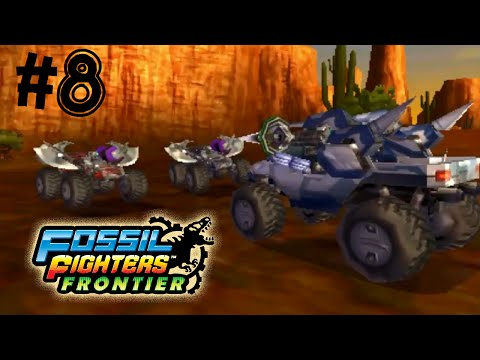 Fossil Fighters: Frontier Nintendo 3DS LUCKY THUGS! Walkthrough/Gameplay Part 8 English!