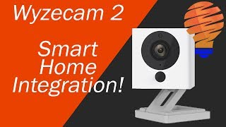 Wyzecam 2 Smart Home Camera Integrated into your Smart Home