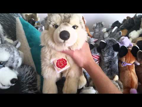 Realistic plush from foreign countries