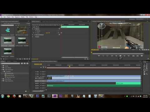 Premiere Pro CS6 Tutorial: Syncing Audio to Video