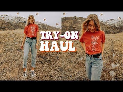 Try-On HAUL (Brandy Melville, Forever21 + more!) | Marla Catherine