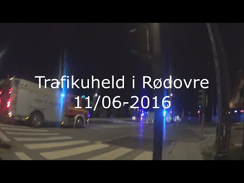 Trafikuheld i Rødovre