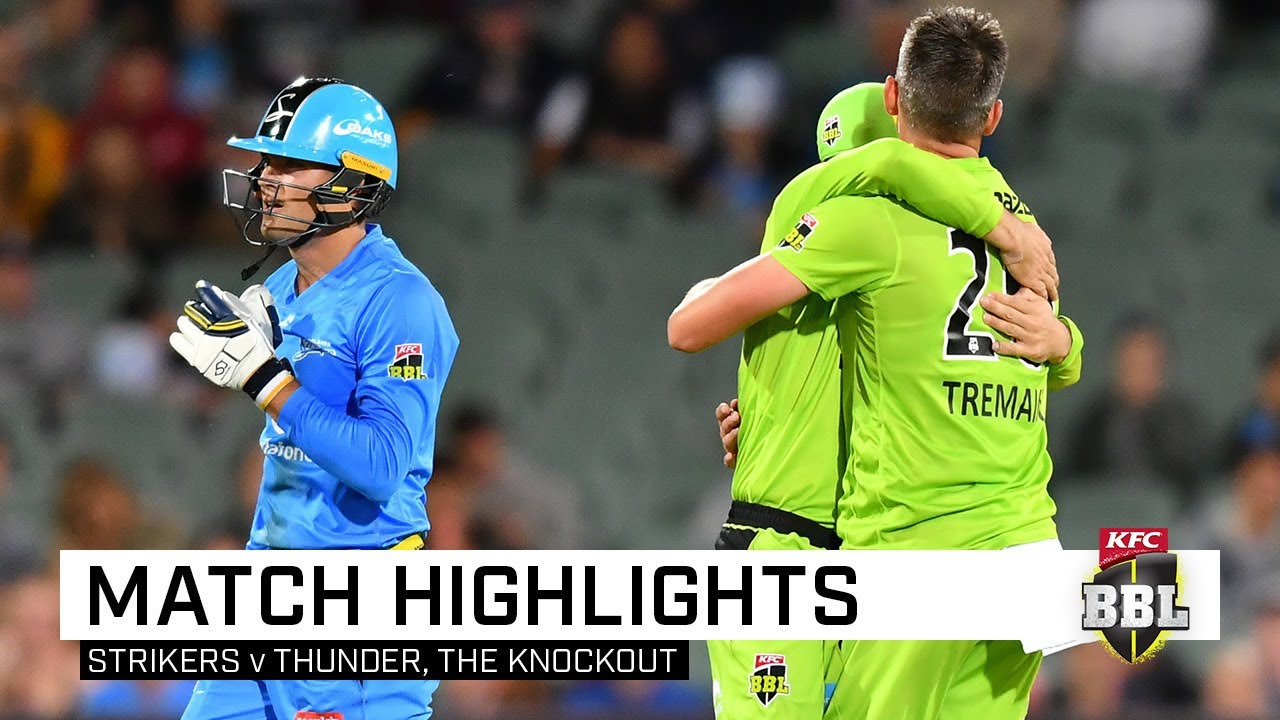 Late Strikers collapse sees the Thunder march on | KFC BBL|09