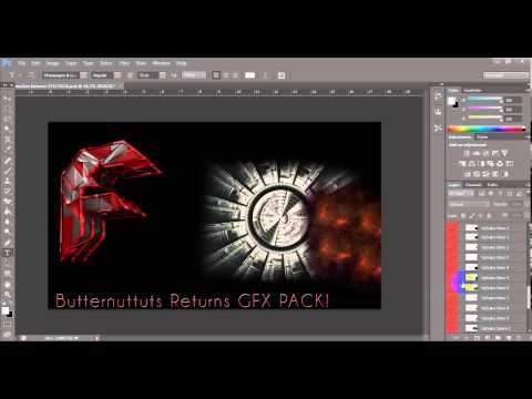 ButternuTuts Returns GFX PACK