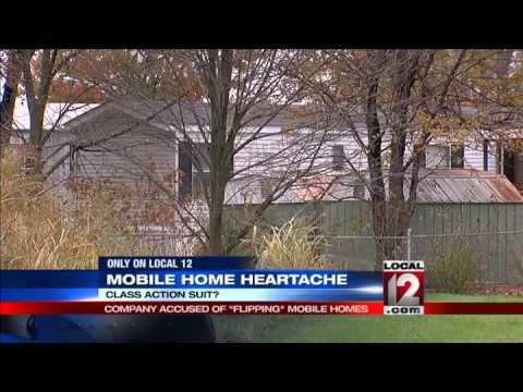 Mobile home heartache: Company accused of