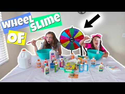 MYSTERY WHEEL OF SLiME CHALLENGE! SiS VS SiS EDiTiON! | Popular Challenges