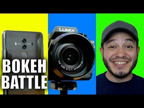 Smartphone Portrait Mode vs DSLR: Bokeh Fight!