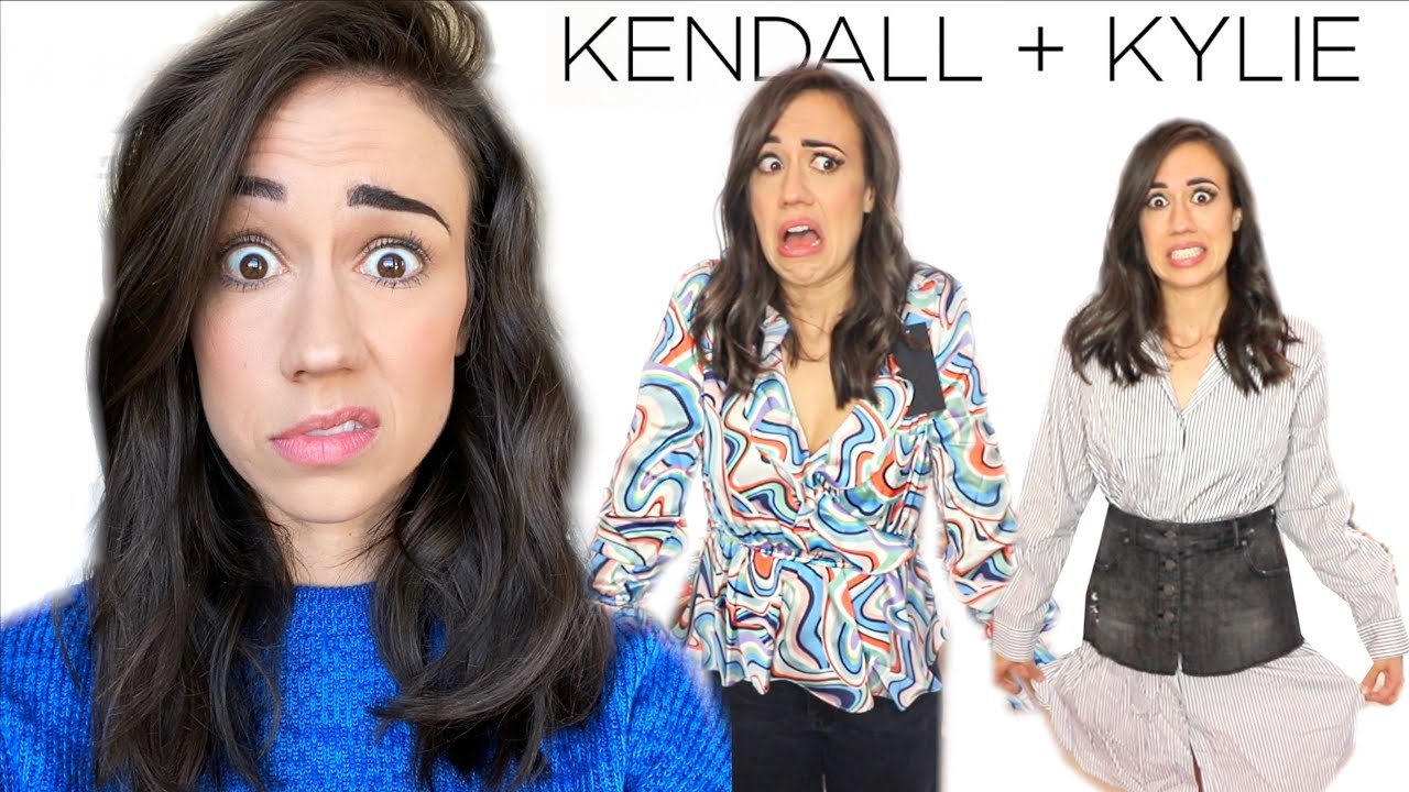 I BOUGHT KENDALL & KYLIE JENNER'S CLOTHES!