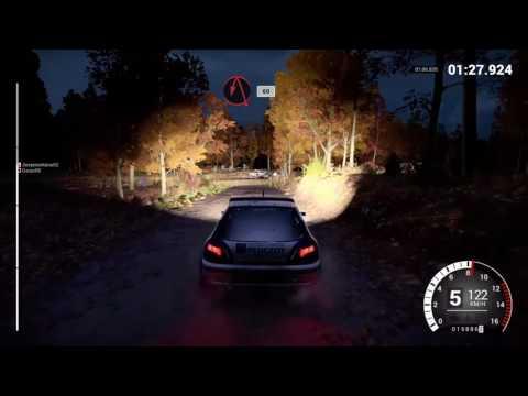 DiRT 4 online gameplay Peugeot 306 Maxi win