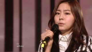 【TVPP】After School - Because of You, 애프터스쿨 - 너 때문에 @ Show Music Core Live
