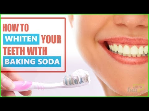 How to Whiten Teeth Instantly with Baking Soda (Correct Procedure)