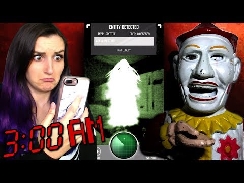 DO NOT Use This Ghost Tracker App at 3AM on Halloween (HAUNTED Clown Antique)