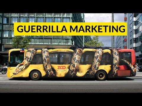 Guerrilla Marketing | Unconventional Marketing Strategy | Needs Lot Of Creativity