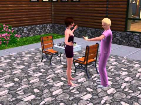My Sims Getting Engaged on the Sims 3