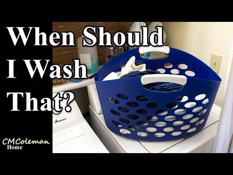 How Often Should I Wash That?