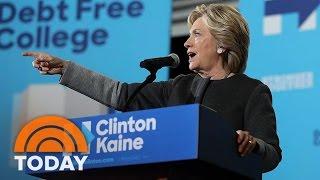 Poll: Hillary Clinton Beat Donald Trump In Debate, But Millennial Lead Shrinks | TODAY