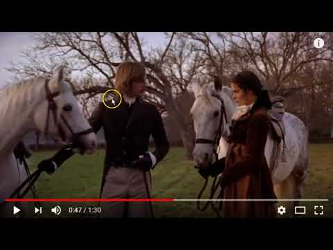 Horse Behavior While Filming Movies - Non Horse People Miss The Warnings