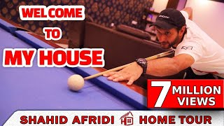 Shahid Afridi Home Tour | Exclusive Video