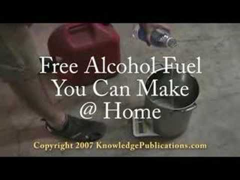Alcohol Fuel Demonstration in a Minibike - No Conversion