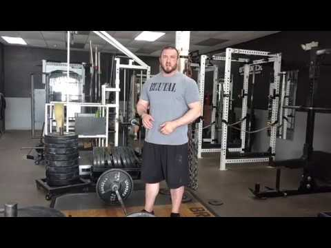 Brutal Iron Gym - Conventional Deadlift Set Up & Weakness Training Advice (see description)