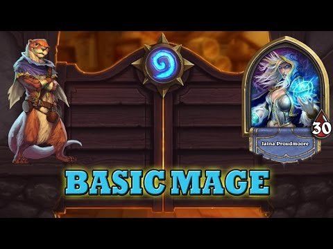 Hearthstone Deck Guide - Starter Mage (Basic Cards Only)