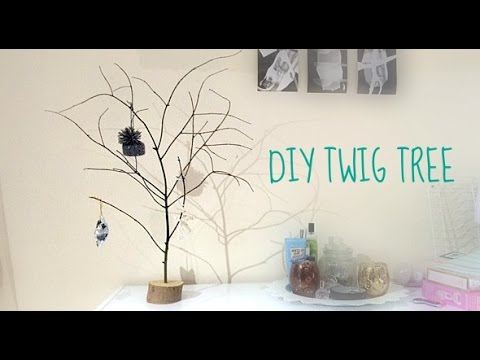 DIY Twig Tree | Decorative Christmas Tree| Jewellery Hanger