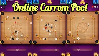 Carrom pool game - Online play carrom board