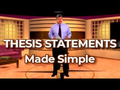 How to Write an Effective Thesis Statement for Your Essay