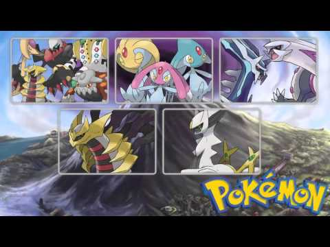 Pokémon - All Sinnoh Legendary Themes (2006 - 2016)