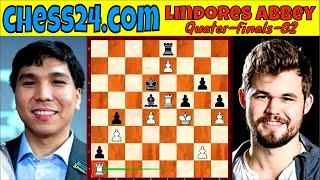 Ginamit ang TENACITY TECHNIQUE! || GM So vs. GM Carlsen || Lindores Abbey Q-Finals Game 2 || # 273