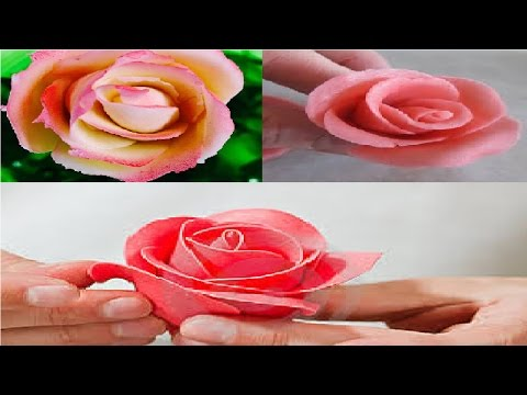 How To Make Flower Small amd Marzipan