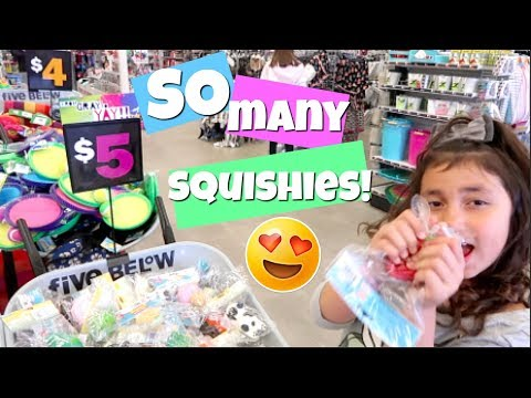 WE FOUND HUNDREDS OF NEW SQUISHIES!!