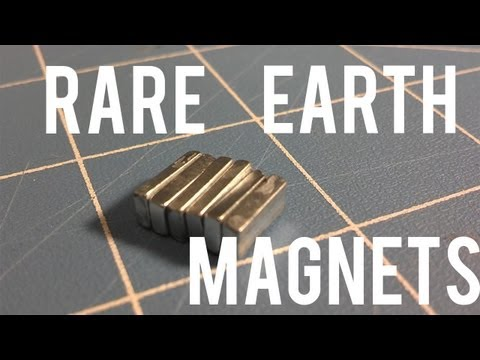 Free Rare-Earth Magnets! (You probably didn't think of this!)