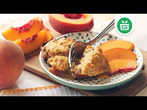 EASY DESSERT || Mini Peach Cobblers
